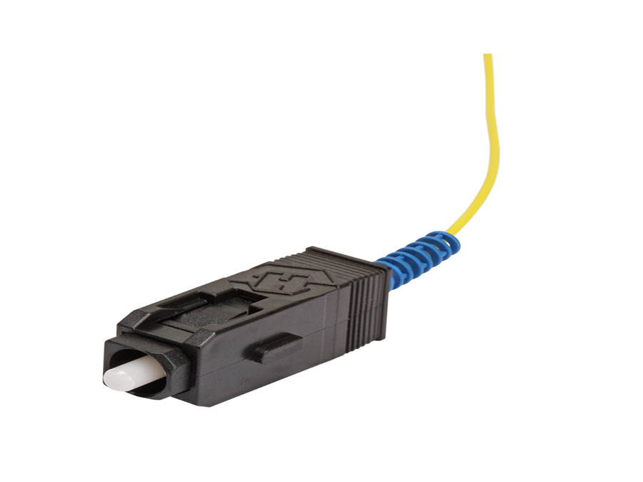 SC/UPC – Single Mode -Semi-tight tube Ø 0.9mm, 9/125 μm – -SCUPC-01