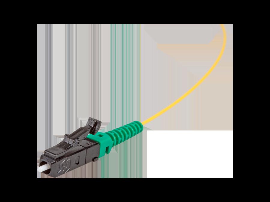 LC/APC – Single Mode -Semi-tight tube Ø 0.9mm, 9/125 μm – -LCAPC-01