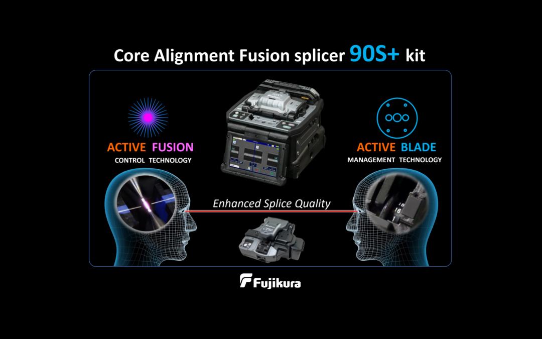 New Fujikura 90s+ Splicer