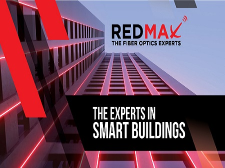 REDMAX, the experts in SMART BUILDINGS
